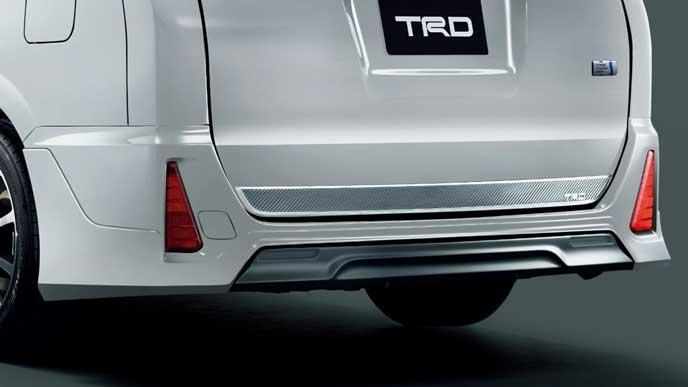 TRD for HYBRID ZS・ZSのリヤバンパースポイラー