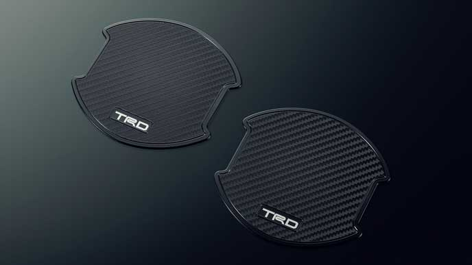 TRD for HYBRID ZS・ZSのドアハンドルプロテクター