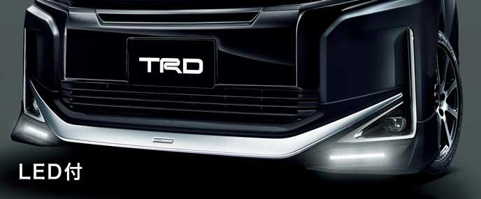 TRD for HYBRID V・HYBRID X・V・Xのフロントスポイラー