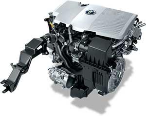新型プリウスαのエンジン