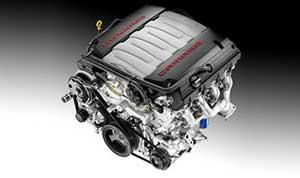 新型カマロに搭載されるエンジン