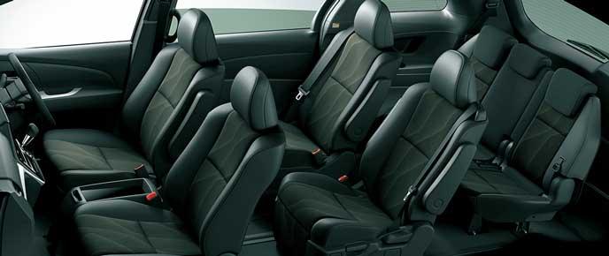 AERAS PREMIUM 2WDの内装