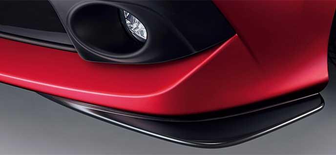 新型シビックセダンBlack Sportyパッケージのロアスカート(フロント用)