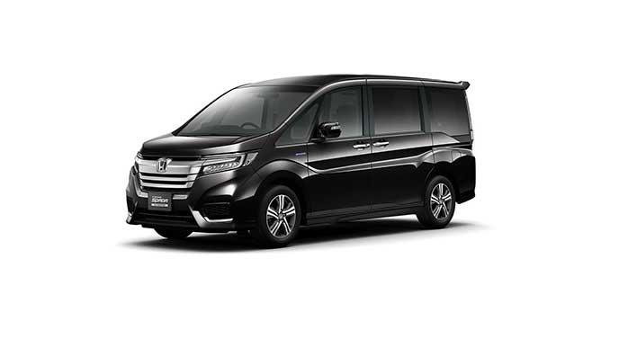 プレミアムスパークルブラック・パールの新型ステップワゴン
