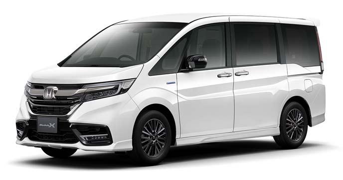 プラチナ・ホワイトパールの新型ステップワゴン モデューロX