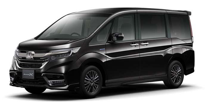 プレミアムスパークルブラック・パールの新型ステップワゴン モデューロX