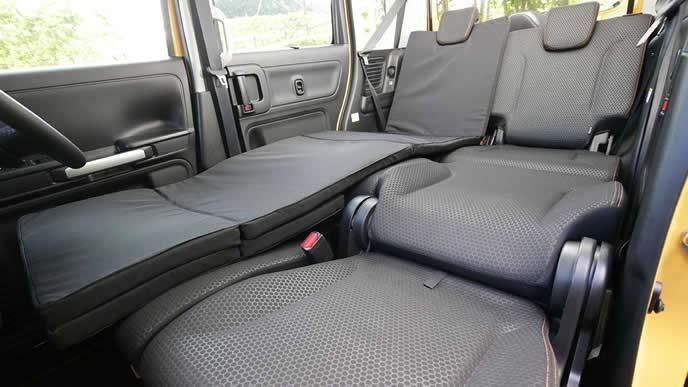 スペーシアギアの車中泊用のオプション