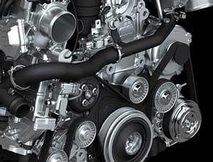 ジャガーXJ LWBのエンジン