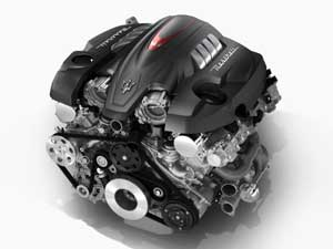 クアトロポルテのエンジン