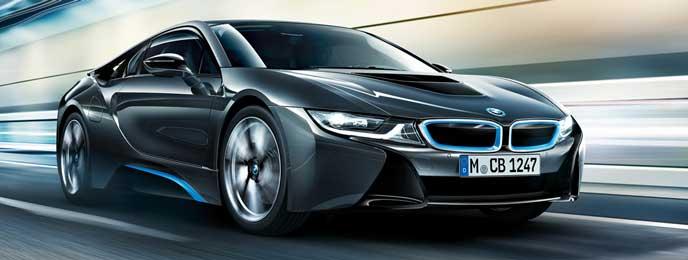 BMW i8のエクステリア