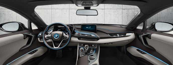 BMW i8の内装