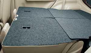 スズキ新型ワゴンRの荷室フルフラットモード