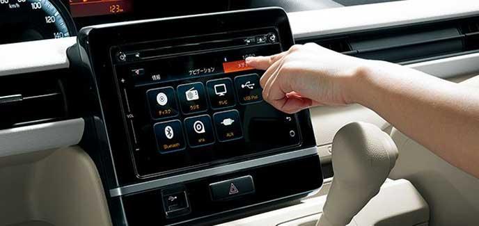スズキ新型ワゴンRのナビシステム