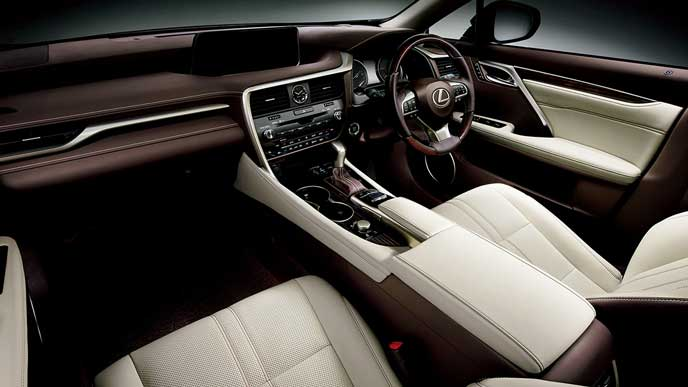 Lexus F Sport >> 新型レクサスRXの内装は豪華絢爛なエレガント仕様 - COBBY