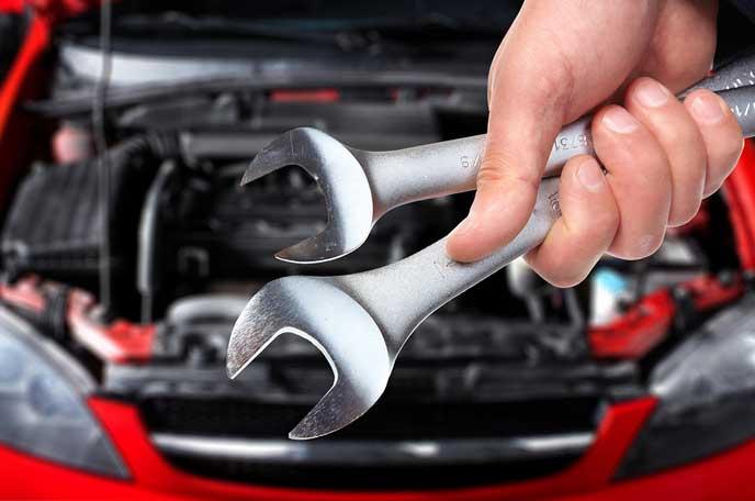車検を始める自動車整備士
