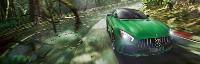 AMG GT Rのエクステリア