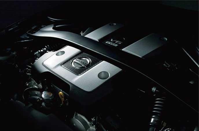新型フェアレディZのエンジン
