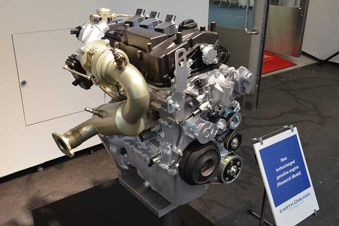 新型S1000に搭載されるエンジン