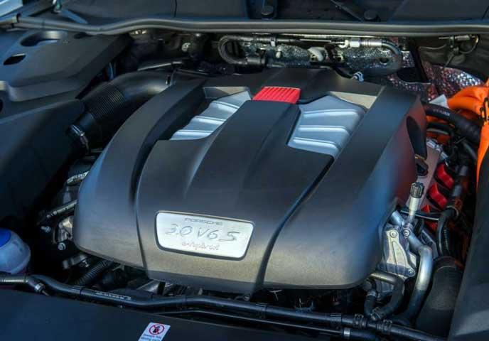 ポルシェ新型カイエンのエンジン
