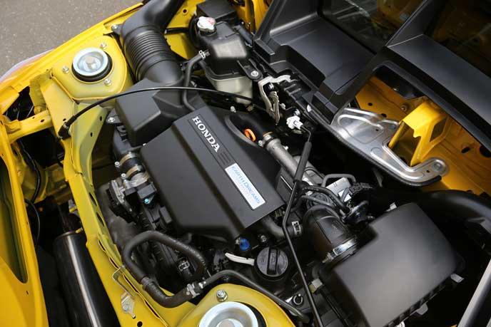 新型S2000のターボエンジン