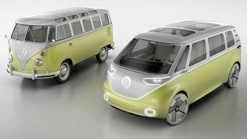 VW新型バス ID BUZZは2022年に登場!レトロなエクステリアや搭載機能まとめ