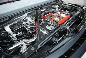新型NSXタイプRのエンジン