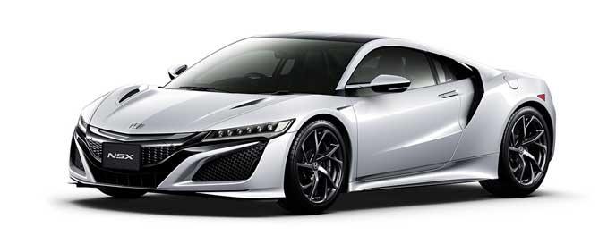 カジノホワイト・パールの新型NSX