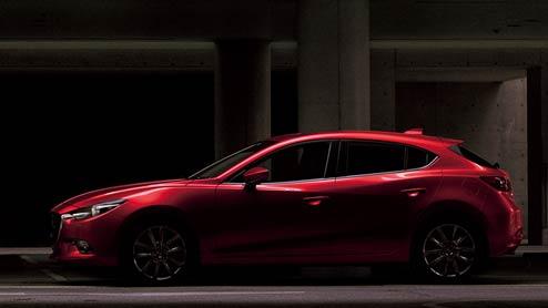新型アクセラのマイナーチェンジ車が2017年9月21日に発売