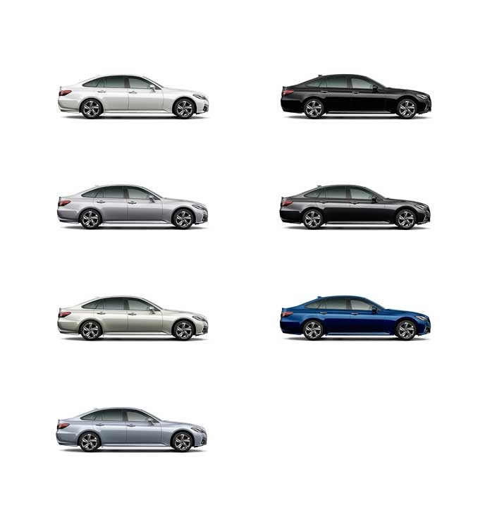トヨタ新型クラウンの標準色のボディカラー