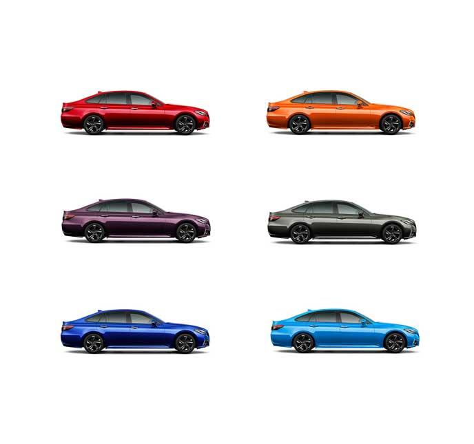 トヨタ新型クラウンのジャパンカラー