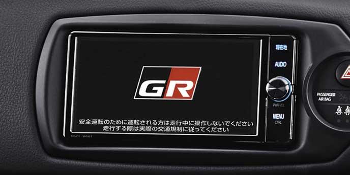 86GRスポーツのT-Connectナビ