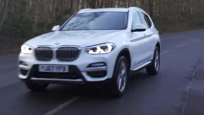 BMW X3のエクステリア