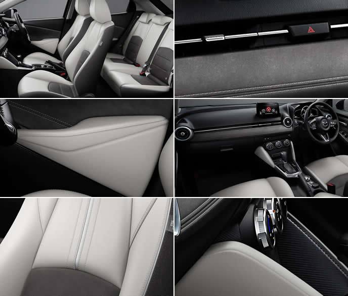 MAZDA2特別仕様車White Comfortの内装