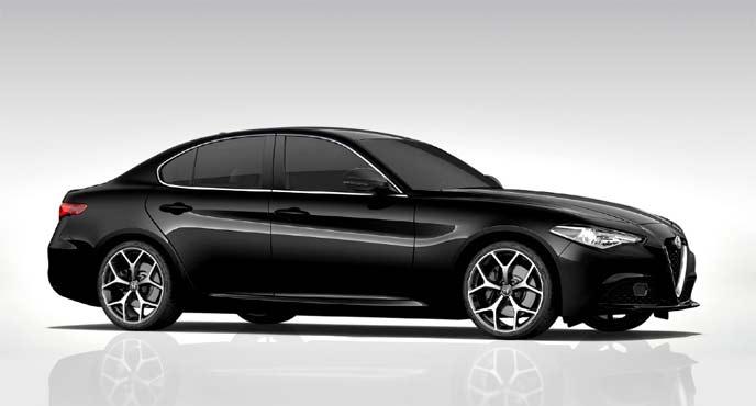 アルファロメオ「ジュリア」特別仕様車「モノクロームエディション」