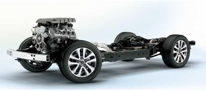 ランドクルーザーのエンジン