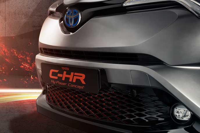 C-HR GRスポーツとなるHy-Powerコンセプト