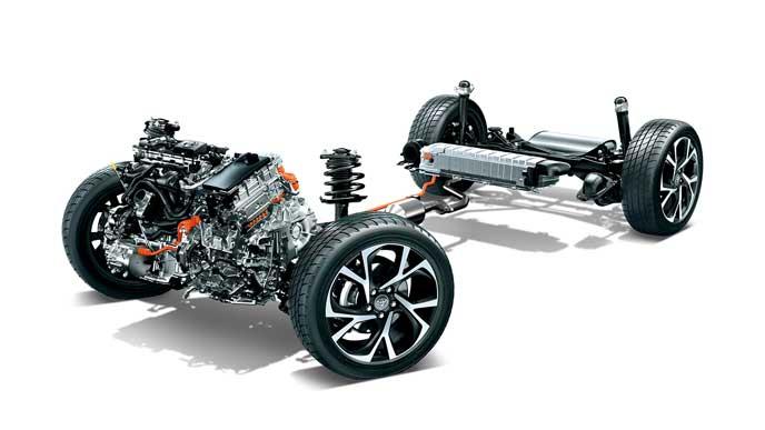 C-HR GRスポーツに搭載されるエンジン
