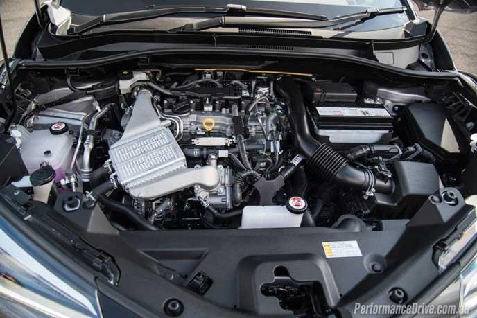 新型カローラに搭載されるエンジン