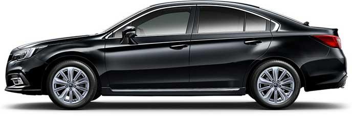クリスタルブラック・シリカの新型レガシィB4