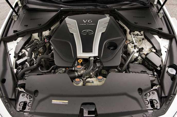 新型フーガのツインターボエンジン