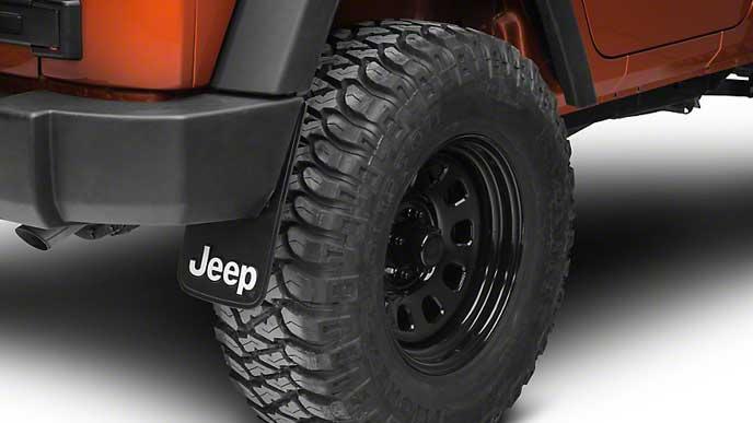 Jeep純正のマッドガード