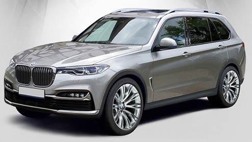 新型BMW X7は最上級ラグジュアリーSUV!2018年半ばに発売