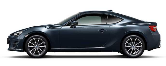 ダークグレー・メタリックの新型BRZ
