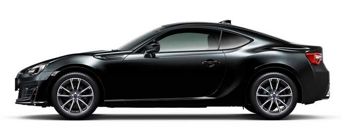 クリスタルブラック・シリカの新型BRZ