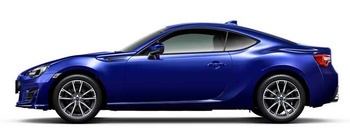 ラピスブルー・パールの新型BRZ