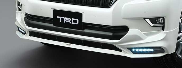 TRD AERO PARTS SETのフロントスポイラー