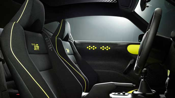 新型S-FRのシート