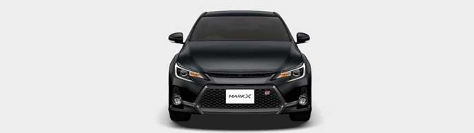 ブラックの新型マークX GRスポーツ