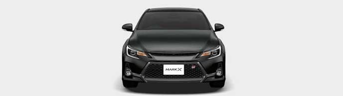 プレシャスブラックパールの新型マークX GRスポーツ