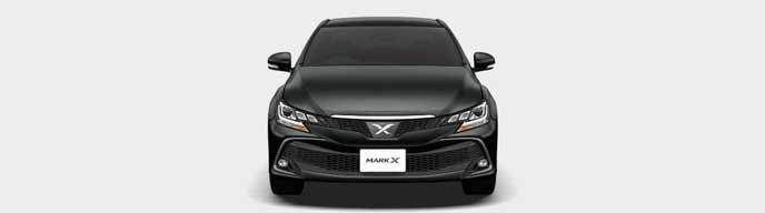 プレシャスブラックパールの新型マークX